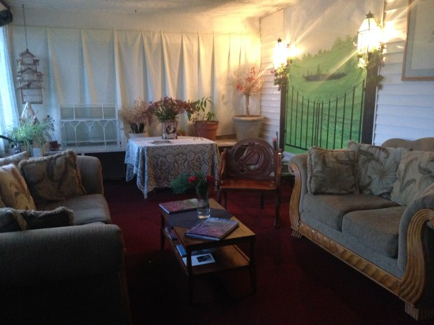 The inside sitting room