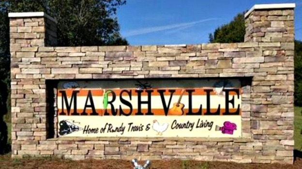 Old sign in Marshville, NC. Photo Credit: Adam Bell - abell@charlotteobserver.com